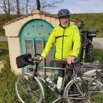 La preuve qu'il y était, le vélo de la photographe est un peu caché;