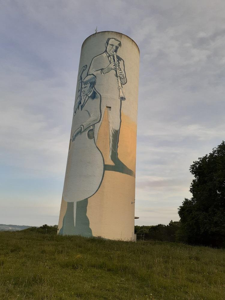 Château d'eau de Ladevèze Ville